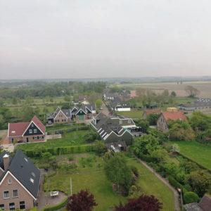 Uitzicht toren Kerkje Oosterland